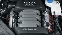 Audi A4 3.2 V6 FSI engine
