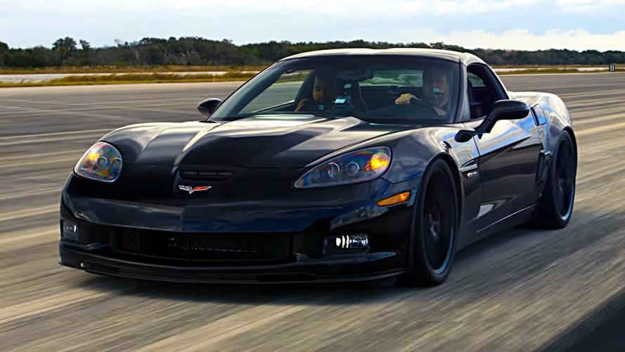 Elektrikli Corvette hız rekorunu (yine) kırdı