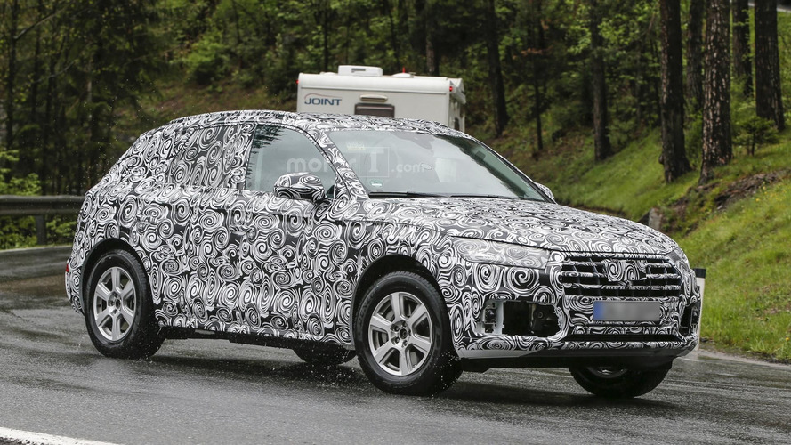 2018 Audi Q5 spied up close in Europe