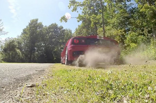 Pricey Tires? Burnout Your Ferrari on Grass