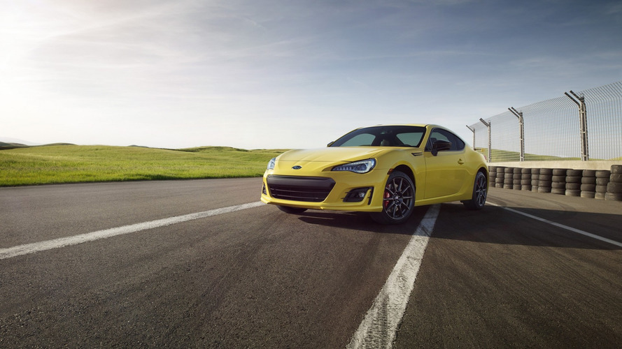 2017 Subaru BRZ Series.Yellow announced