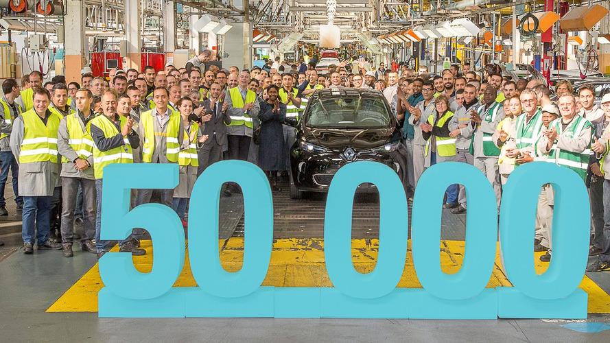 50,000'inci Renault Zoe üretildi