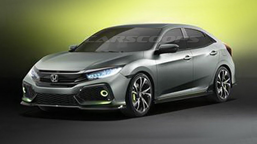 Honda Civic Hatchback concept previews the shape of things to come