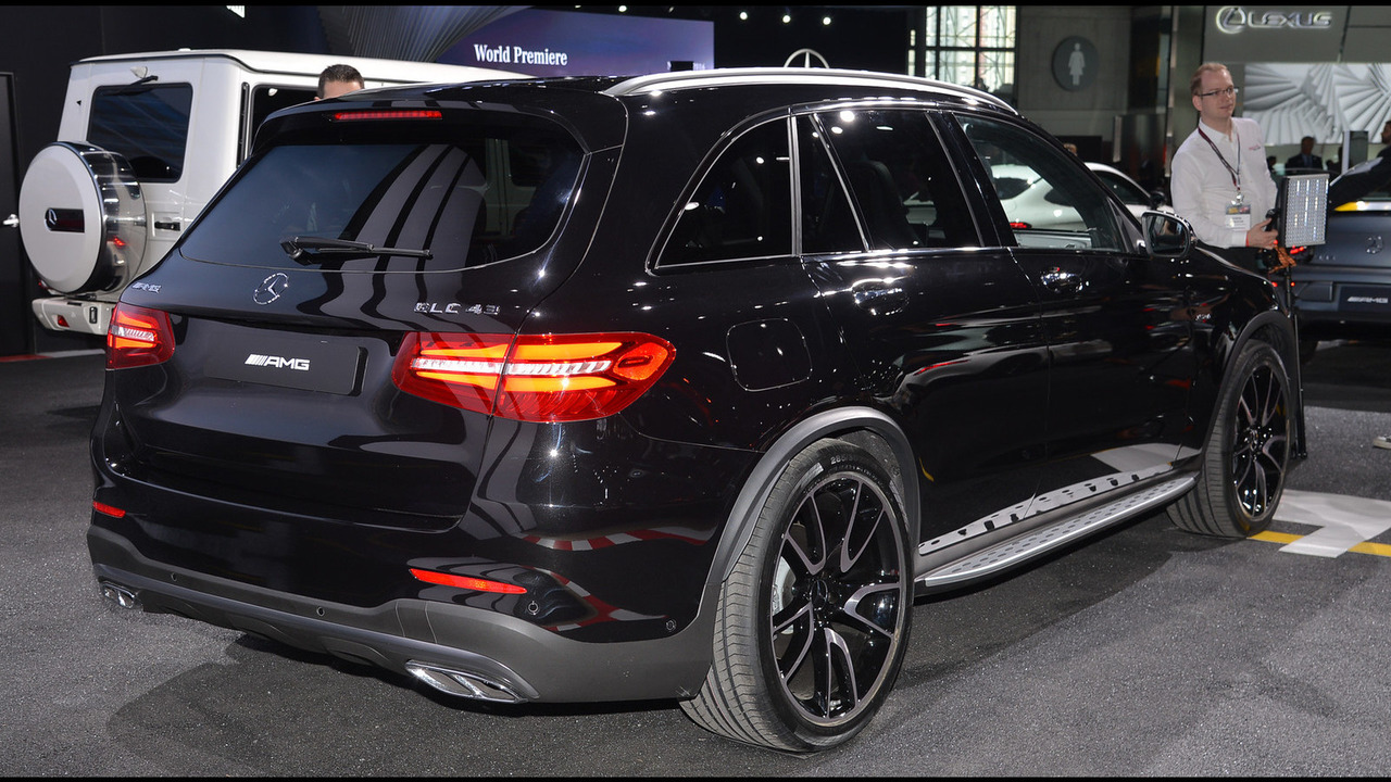 Mercedes Glc Coupe Tuning >> Mercedes-AMG GLC43 arrives in New York with 362 hp