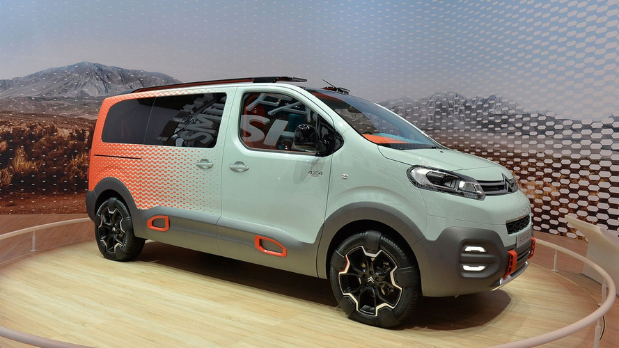 Citroën - Une version crossover du SpaceTourer dans les cartons ?
