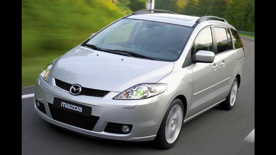 Mazda 5: Großer Siebensitzer kommt zu Mini-Preisen