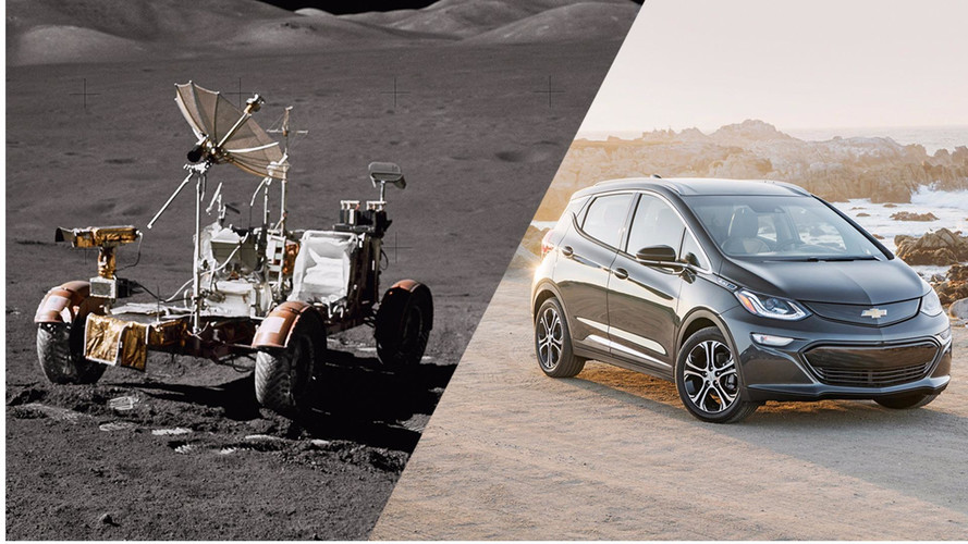 Chevy Compares Bolt Vs Lunar Rover For Moon Landing Anniversary