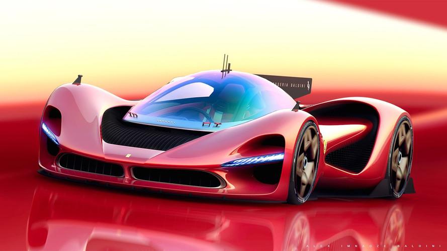 Ferrari P3 render Aston Martin Valkyrie rakibi olabilir