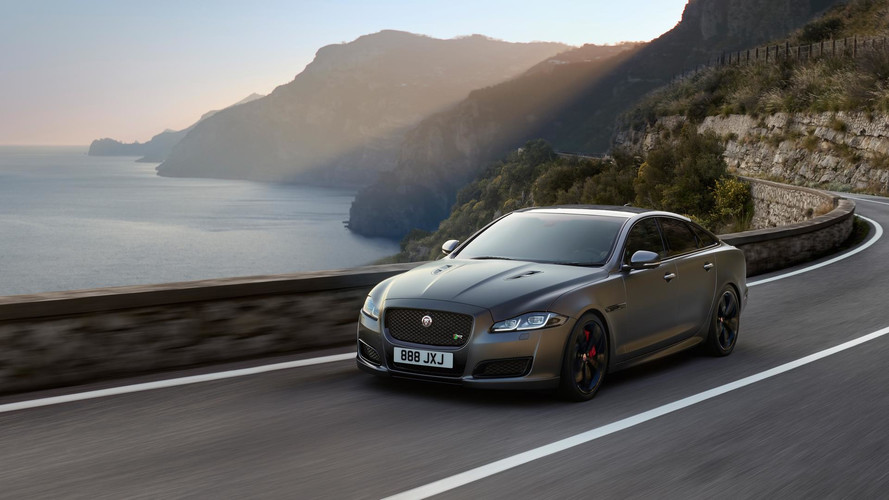 2018 Jaguar XJR575 Super Sedan Unveiled With 300 KM/H Top Speed
