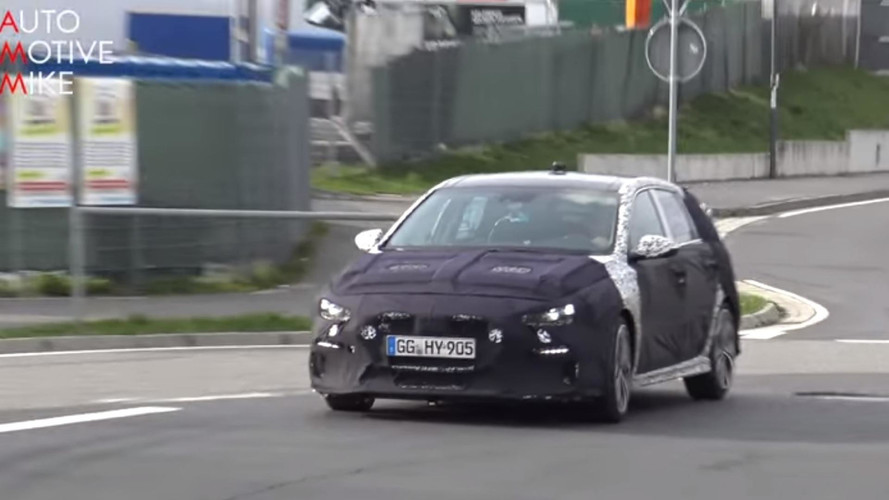 Hyundai i30 N Flexes Its Muscles For Six Minutes On The 'Ring