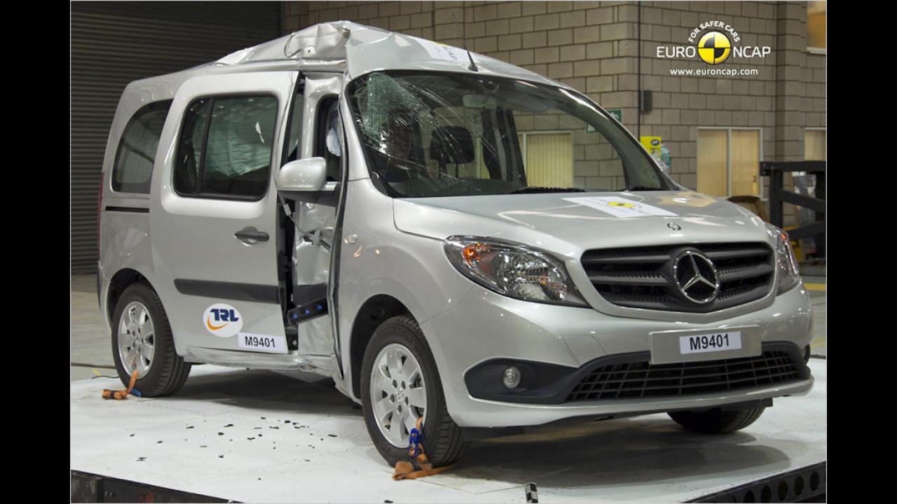 Flop: Mercedes-Citan-Crashtest