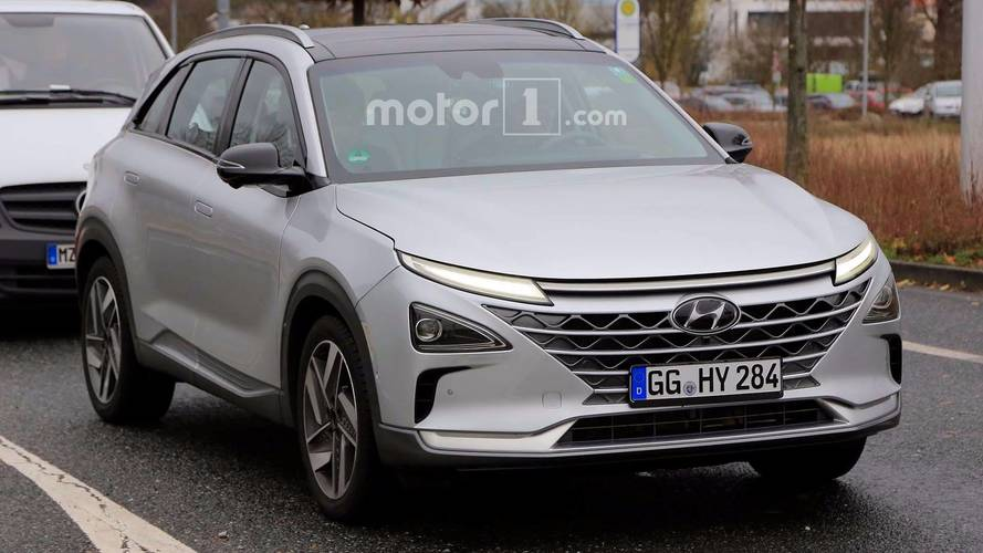 İkinci nesil Hyundai FCEV SUV