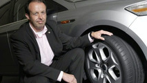 Norbert Kessing with new Ford Mondeo