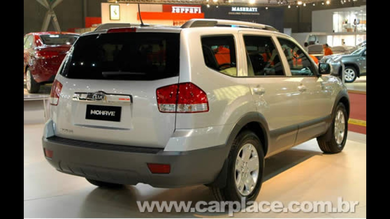 Kia Mohave com motor 3.8 V6 de 275cv já é vendido no Brasil por R$ 154.900
