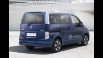 Nissan e-NV200 VIP, utilitário 100% elétrico, possui até monitor de 21