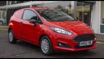 Novo Ford Fiesta ganha versão Van no Reino Unido