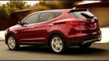 Hyundai Santa Fe 2015 ganha melhorias na suspensão e novos equipamentos