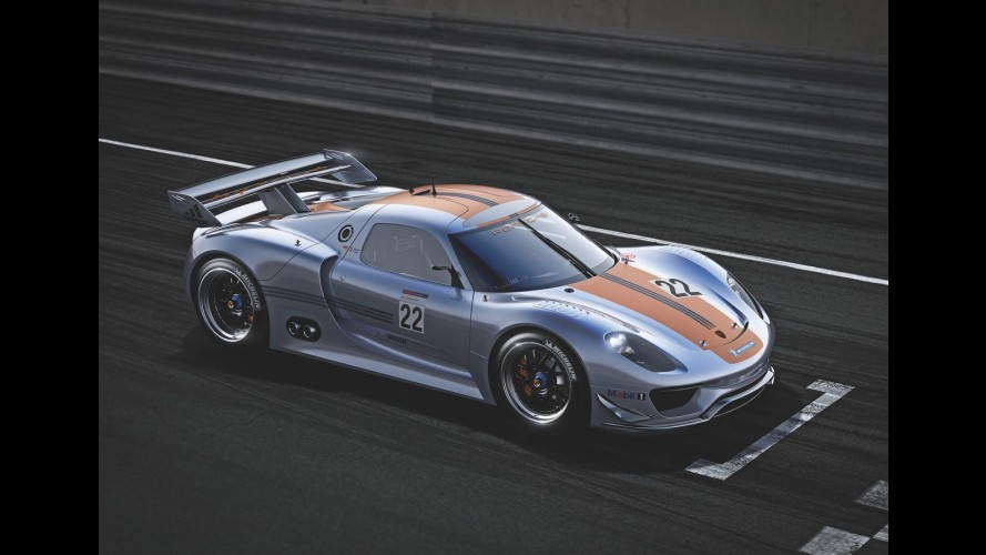 Detroit: Novo Porsche 918 RSR 2011, o esportivo híbrido de corrida de 777 cv