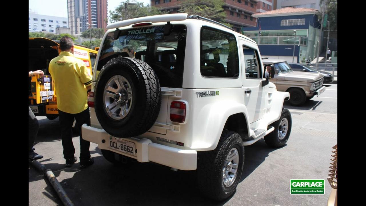 Troller apresenta linha T4 2012 - Off-road custa R$ 93.227 e tem garantia de 2 anos