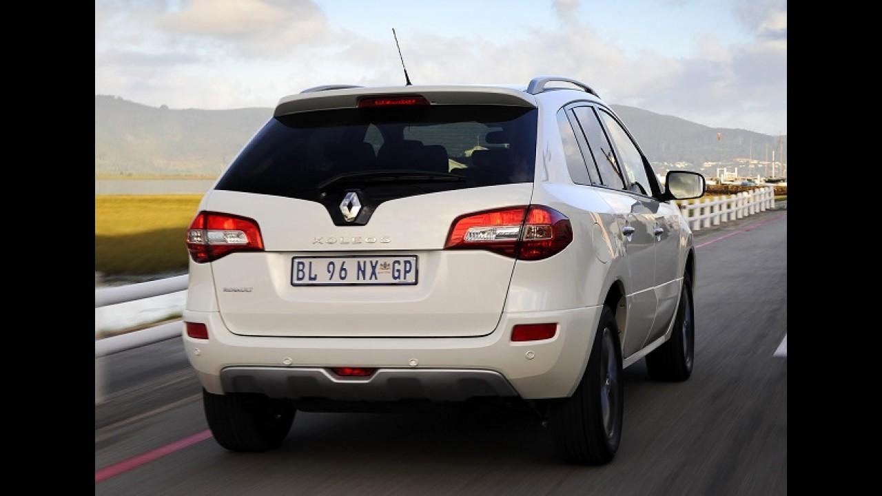 Renault Koleos surfa no sucesso do Captur e tem segunda geração confirmada