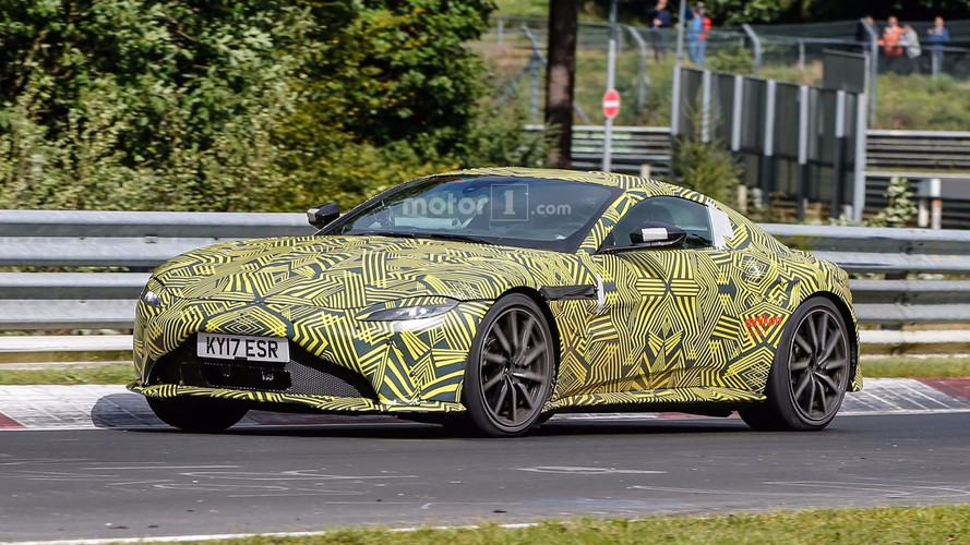 2018 Aston Martin V8 Vantage Spied Circling The Nurburgring