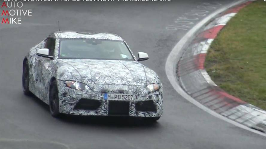 Spend A Couple Of Minutes Watching The Toyota Supra At The 'Ring
