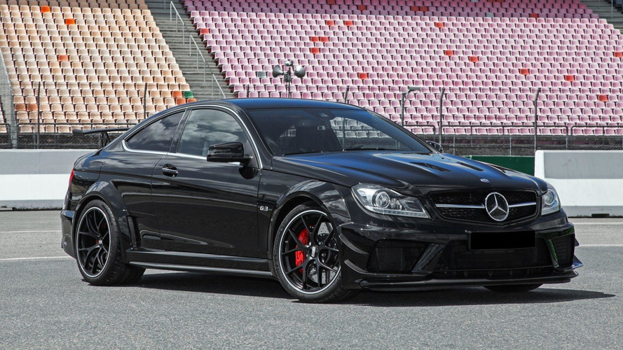 Mercedes C63 AMG Black Series Conversion Is Convincing