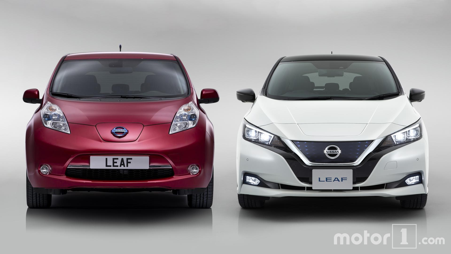 Green Nissan Leaf >> 2018 Nissan Leaf: See The Changes Side-By-Side