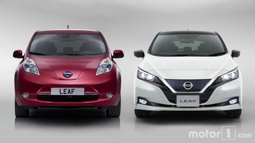 Side By Side: New And Old Nissan Leaf Compared