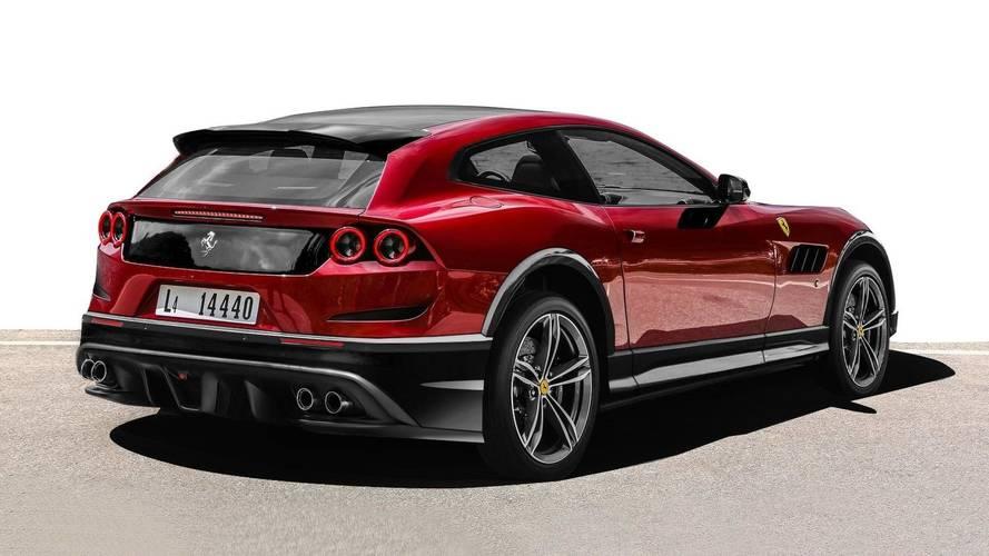 Un Suv Ferrari Voici 224 Quoi Il Ressemblera
