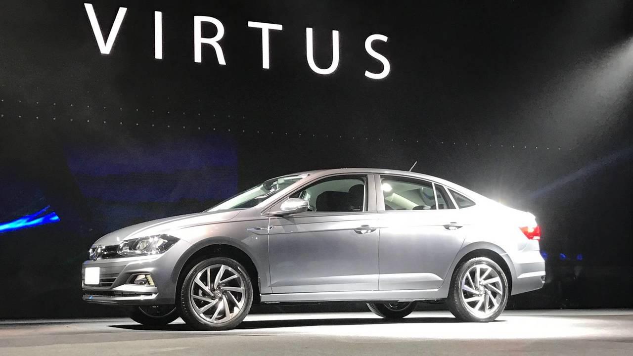 Novo Volkswagen Virtus 2018 233 Revelado Oficialmente Veja