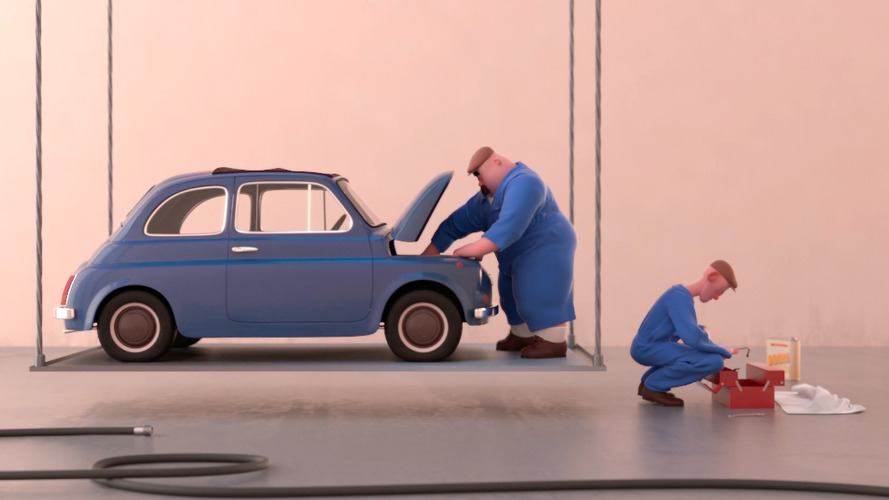 Animated short shows the pitfalls of repairing a classic Fiat