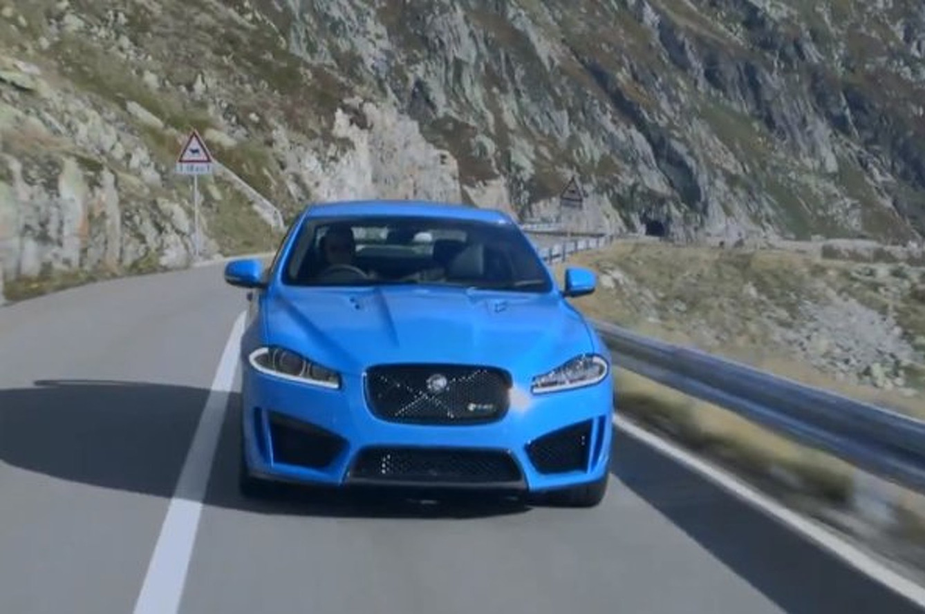 Video: 2014 Jaguar XFR-S is Unsuitable for Virgin Ears