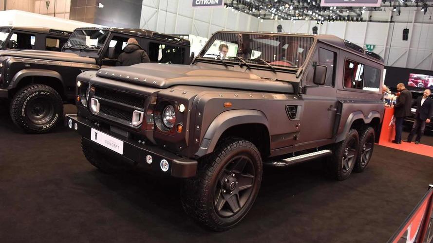 Land Rover Defender Flying Huntsman by Kahn Design brings all six wheels to Geneva