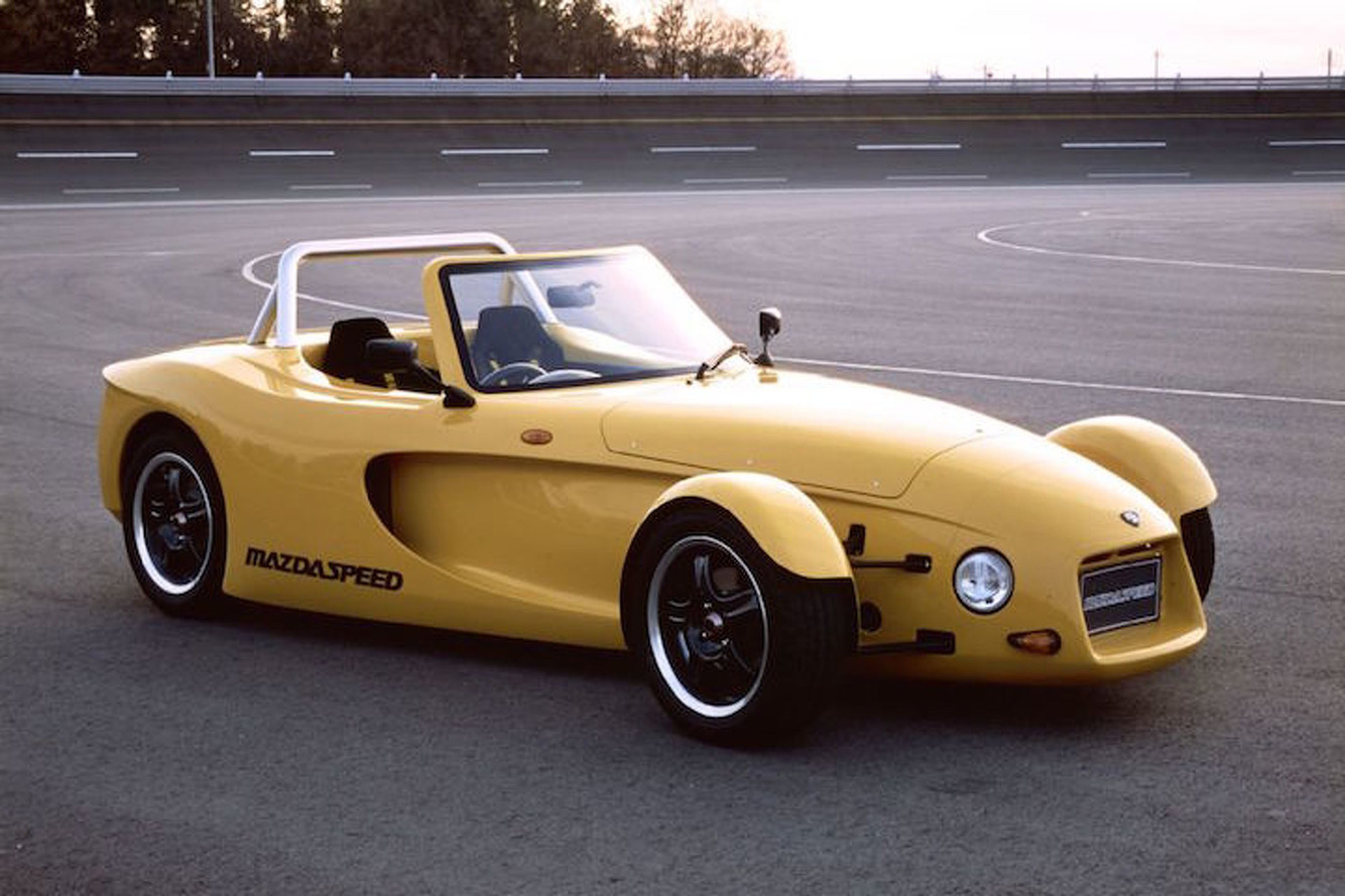Weird Car of the Week: Mazda's Neglected Track Toy