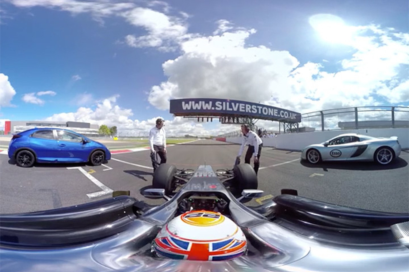 Can This F1 Car Beat a McLaren Supercar with a Head Start?