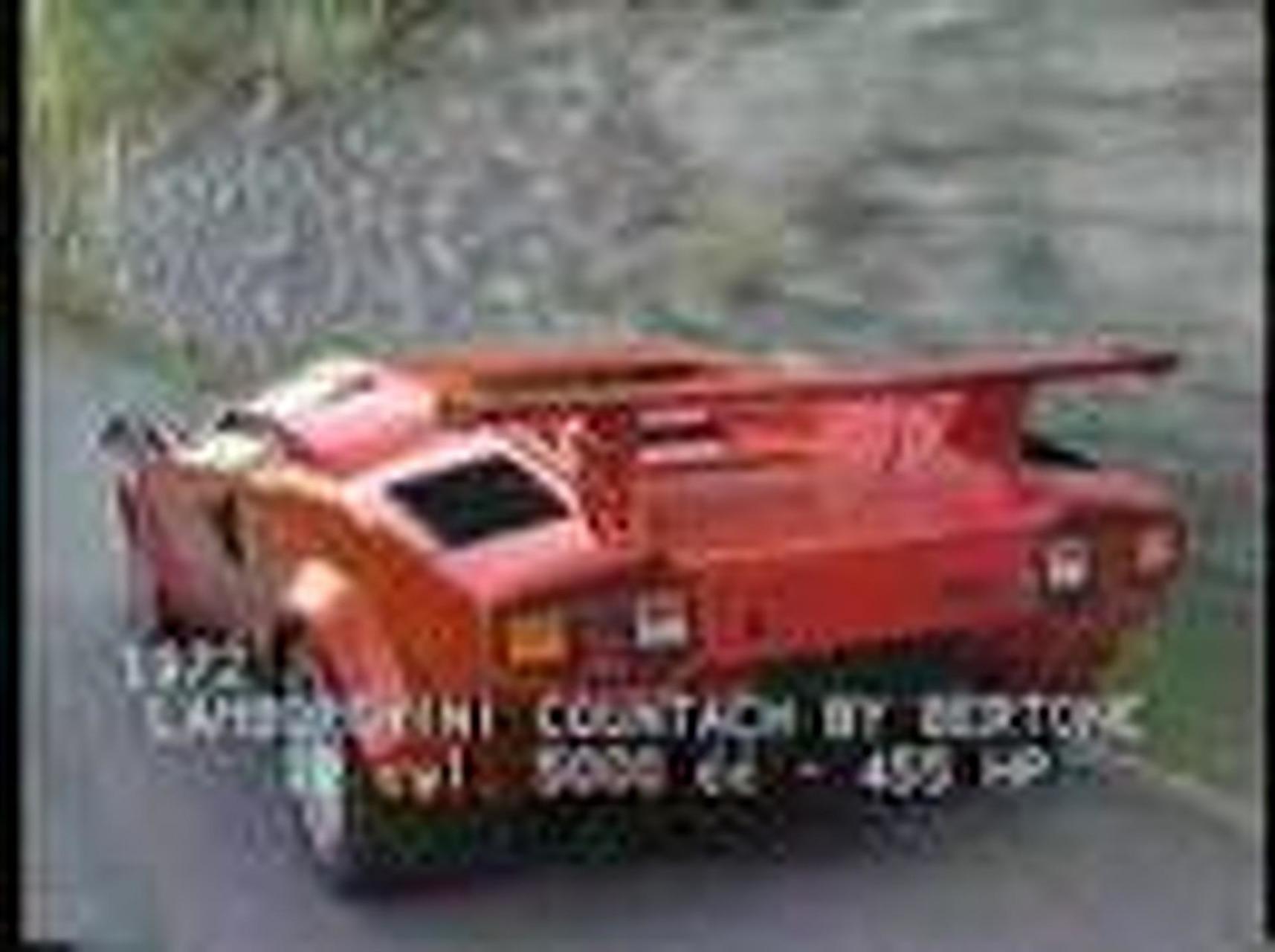 Lamborghini Countach by Bertone