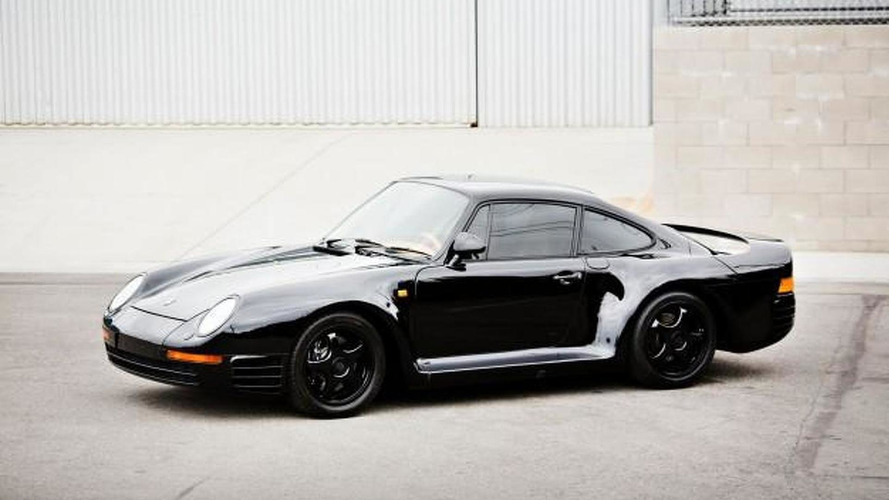 Sinister black 1988 Porsche 959 estimated to fetch up to $1.8 million at auction