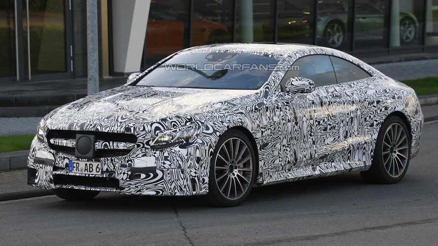 2014 Mercedes-Benz S63 AMG Coupe makes a welcomed comeback in new spy pics
