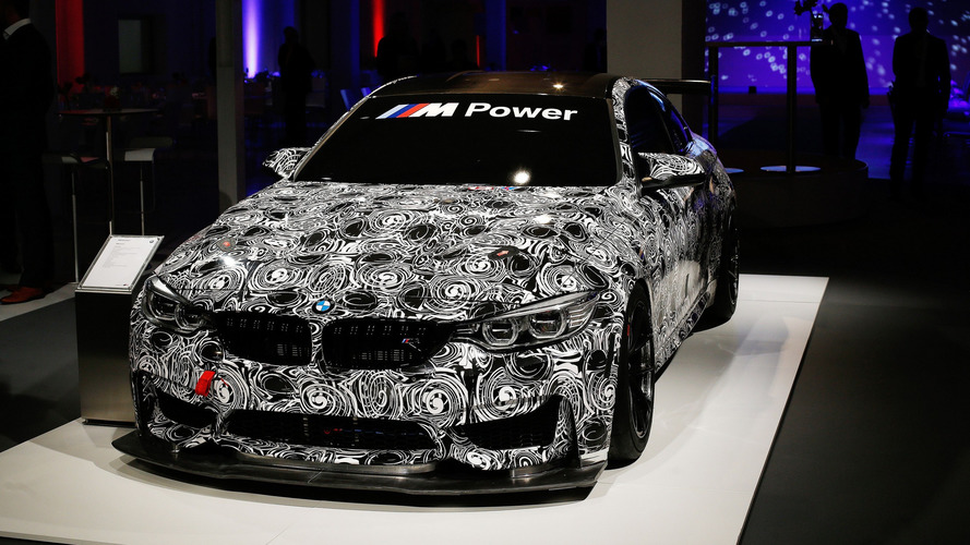 BMW M4 GT4 first official image released