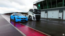 Volvo The Iron Knight compite contra el S60 Polestar
