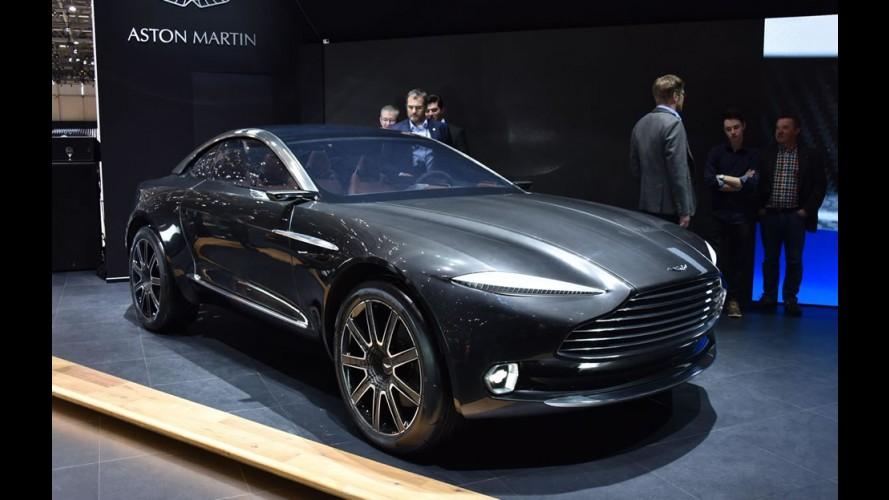 Aston Martin confirma versão de produção do conceito DBX