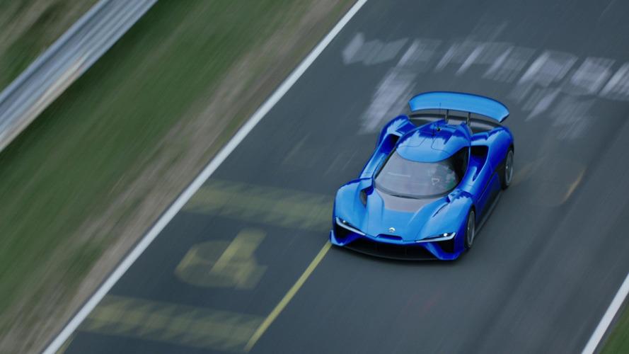 Nio EP9 claims autonomous car lap record at U.S. F1 circuit