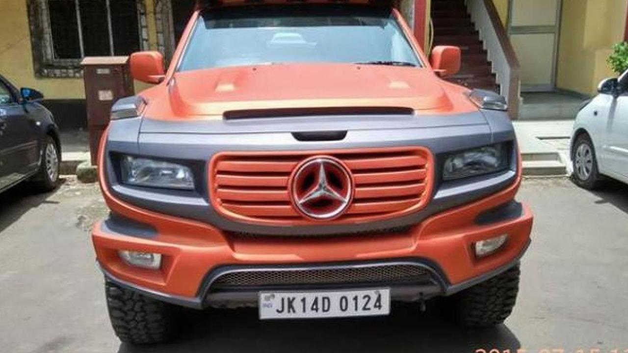 Mercedes-Benz Ener-G-Force replica based on Tata Xenon