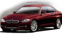 2012 BMW 3-Series rendered 09.09.2011