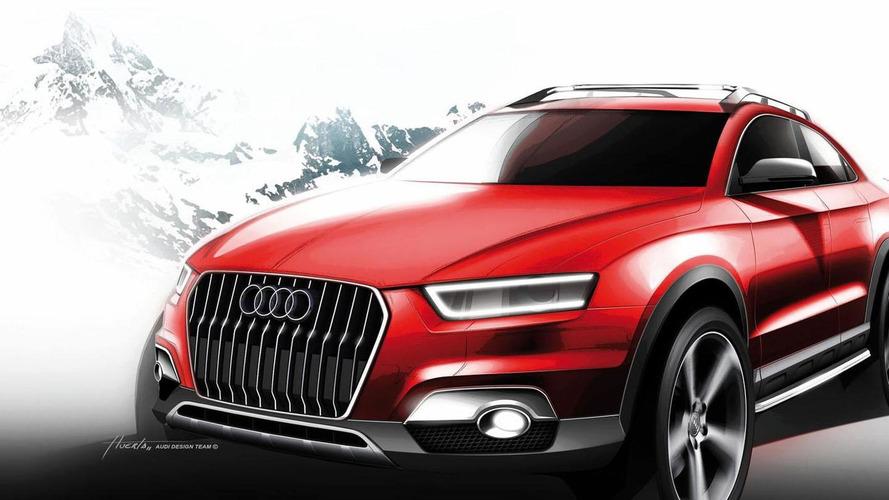 Audi Q2 concept comes into focus ahead of possible Paris debut
