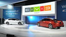 2012 Honda Civic Sedan & Civic Si Coupe Concepts - 2011 NAIAS