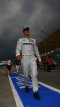 Michael Schumacher (GER), Mercedes GP Petronas, Malaysian Grand Prix, 01.04.2010 Kuala Lumpur, Malaysia