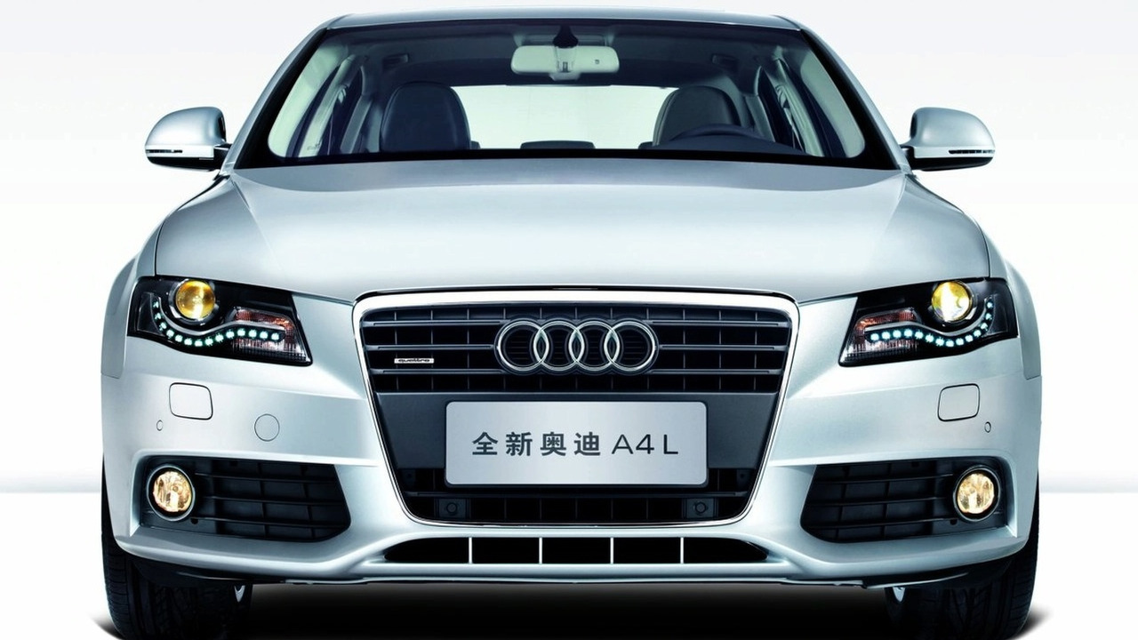 Audi A4 L long-wheel-base for China