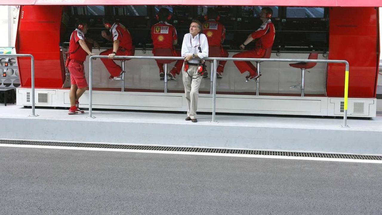 Luca di Montezemolo (ITA), Scuderia Ferrari, FIAT Chairman and President of Ferrari - Formula 1 World Championship, Rd 19, Abu Dhabi Grand Prix, 13.11.2010